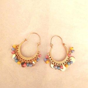 Tambourine earrings Brand New!! Gorgeous!